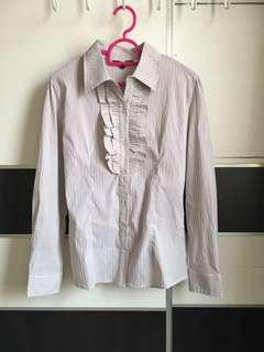 Striped Office Wear Shirt