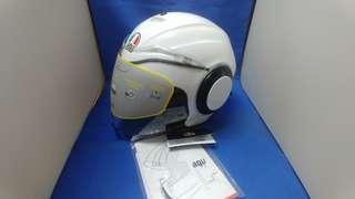 agv open face helmet 電單車 開面 頭盔