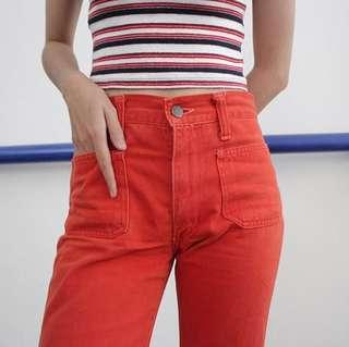 Preloved Celana Bahan Jeans Vintage