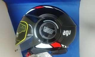 agv  開面電單車頭盔 大碼 motorcycle helmet