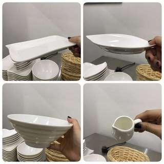 Plastic Bowl and plate
