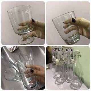 Glass & bottles