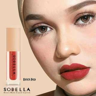 SOBELLA LIPMATTE BRICK RED