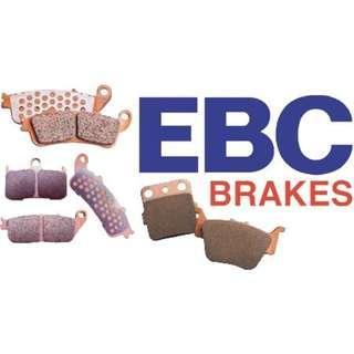 EBC smax force 155  金皮 剎車皮 包魚皮 頭尾一套 EBC Double-H™ Sintered Superbike brake