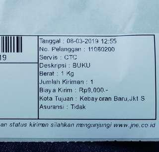 Thank you, buyer from Kebayoran Baru