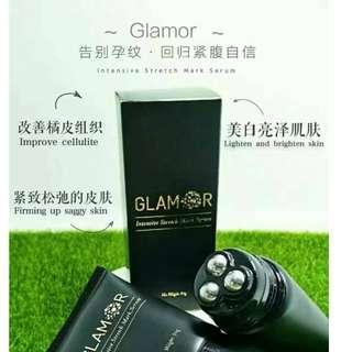 GLAMOR 妊娠紋 精華素 撫平 快速見效( 馬來西亞製造)孕婦 改善 橘皮膚 橙皮紋 男女都可用