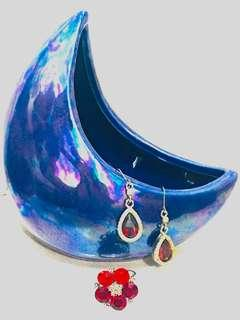Earrings+ring
