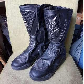 Falco motorcycle riding boots EU36 / Womens' US5 (Made in Italy)