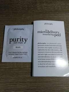 Philosophy 護膚套裝(潔面+煥膚霜+精華)