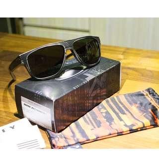Oakley Breadbox Fall Out (Limited Edition) • Black Decay Frame • Dark Grey Lens Sunglasses OO9199-15