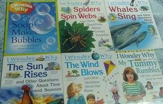 Science books for kidals
