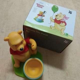 🚚 德國 WMF 迪士尼小熊維尼蛋杯 公仔 擺飾 無附湯匙