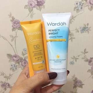 [BUNDLING] Wardah DD Cream + Perfect Bright Creamy Foam