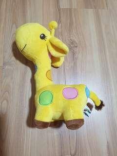 Baby soft toy giraffe
