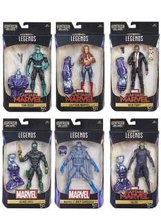 Marvel Legends Captain Marvel wave Kree Sentry baf