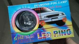 New Universal fog lights with halo ring lights