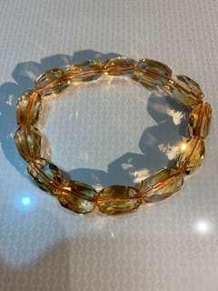 Rare Premium Quality Citrine Bracelet (No Heat)