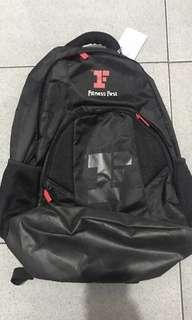 Backpack fitness first used