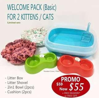 Welcome Pack for Kittens