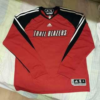 adidas NBA Portland Trail Blazers Shooting Shirt Size M
