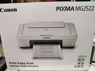 (Sealed, Brand New) Canon Prixma MG2522