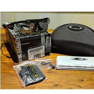 Oakley Radar Pitch (Asia Fit) • Polished Black Frame • Slate Iridium Lens Sunglasses 09-713J