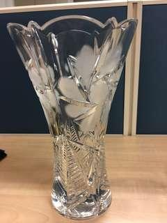 Crystal glass vases