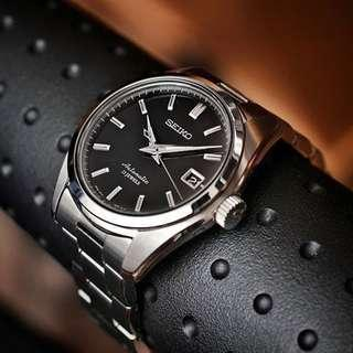 Seiko SARB033 (Japan Made) Black Dial Dress Watch (Discontinued)
