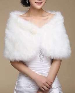 細件毛毛披肩,結婚姊妹用