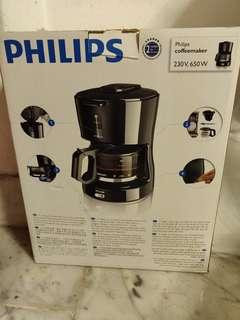 🚚 BNIB Phillips Coffee Maker