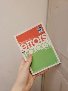 common error in biology book2