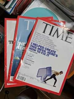 TIME Magazines (both new and past issues)