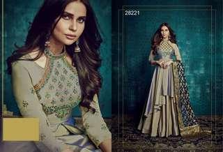 🚚 Long Gowns / Anarkalis with stole/ Dupatta