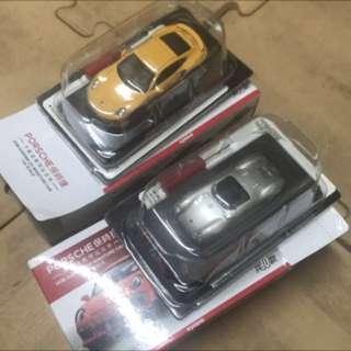 🚚 可選黃或銀 只拆開看,沒有玩過 ,一台70,不含運#porsche  #模型車  #車 #玩具