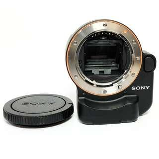 Adapter Sony Translucent A-Mount To Sony E-Mount Like New