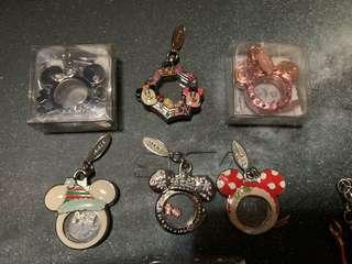日本迪士尼鎖匙扣 Disney mickey Minnie 米奇米妮 聖誕Christmas