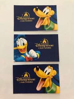 上海迪士尼門票三張 Shanghai Disney Ticket X3