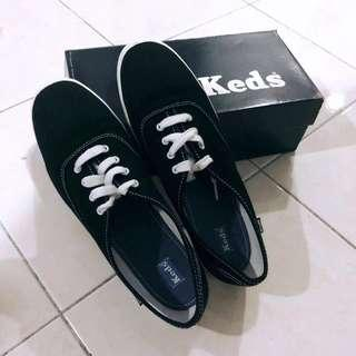 Keds Champion Black Canvas Women Shoes