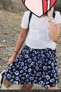 Floral skirt cotton on