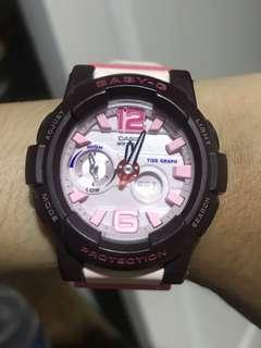 Casio Baby G- Pink Brown