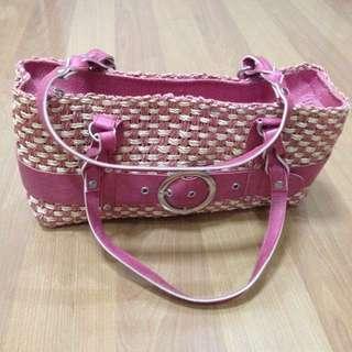 New:Native pink shoulder bag