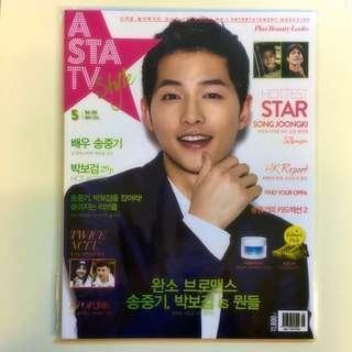 🚚 Korean ASTA TV Song Joongki
