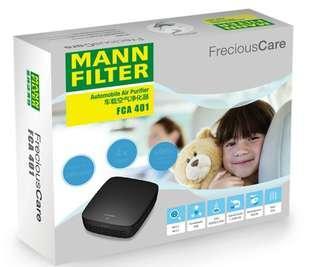 車用空氣清淨機 德國曼牌MANN-FILTER F401除異味PM2.5