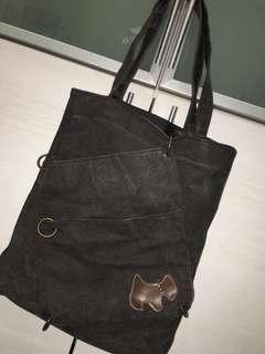 A4 Size Denim Bag