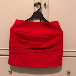 Maje Red Skirt 紅色裙
