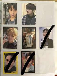 Stray Kids Minho/Lee Know Photocards