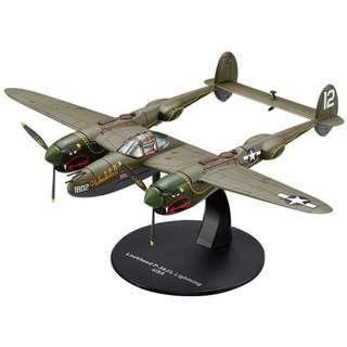 Flying tiger 美軍飛虎隊 P38戰鬥機 金屬模型 已絕版 第二次世界大戰