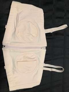 🚚 Hands free nursing bra