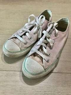 🚚 sneakers women size 37 36 sneakers size 37 converse shoes lady girl converse all star pink low cut low rise limited