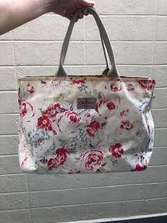 Cath kidston winter rose authentic big tote bag